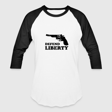 Defend liberty - Baseball T-Shirt