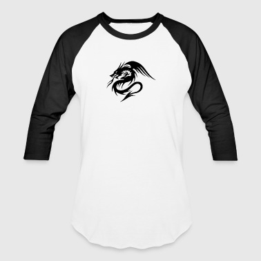9 2 dragon tattoos png - Baseball T-Shirt