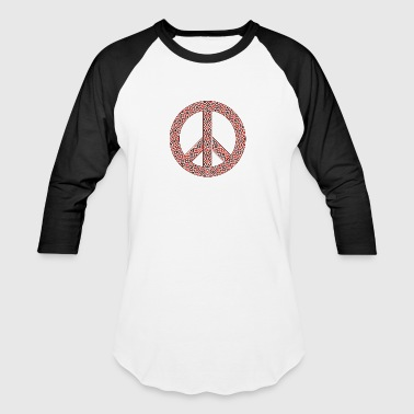 peace logo - Baseball T-Shirt