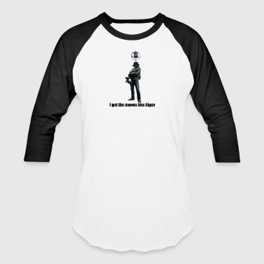 moves like jager - Baseball T-Shirt