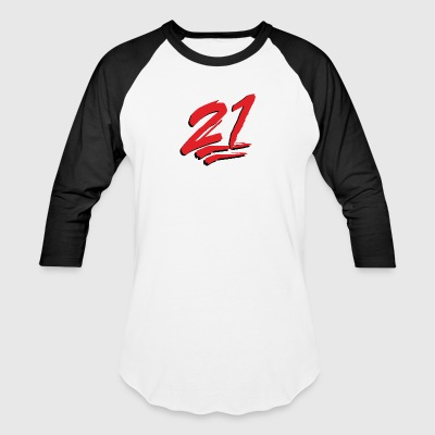 21 Emoticon - Baseball T-Shirt