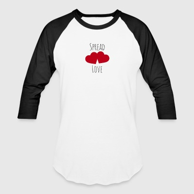 Spread Love - Baseball T-Shirt