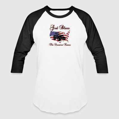 God Bless the American Farmer - Baseball T-Shirt