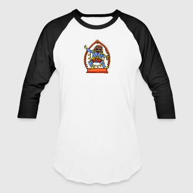 Ancient Egyptian Painting - Male Deity - Baseball T-Shirt