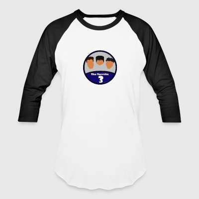 the terrific 3 logo t shirt version - Baseball T-Shirt