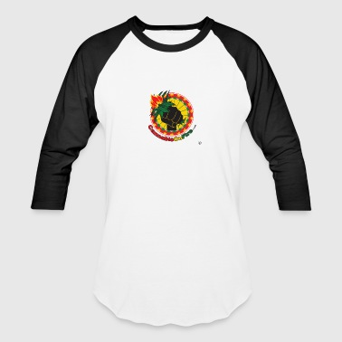 Cannabis On Fire Make it Legal! 420 Wear - Baseball T-Shirt