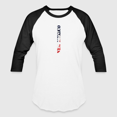 New Mexico Flag Design - Baseball T-Shirt