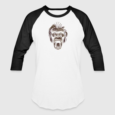 ape face - Baseball T-Shirt