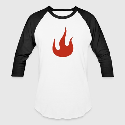 Flame - Baseball T-Shirt