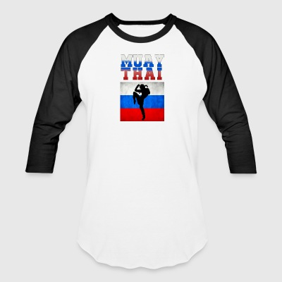 Muay_Thai_russia - Baseball T-Shirt
