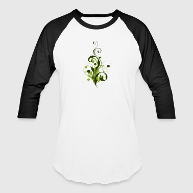 Abstract Flora - Baseball T-Shirt