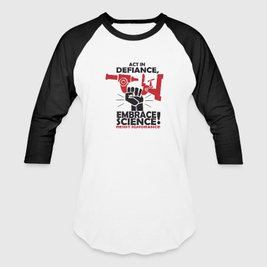 Act In Defiance - Baseball T-Shirt