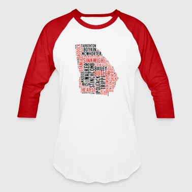 All Time Georgia Football Greats Men's V-Neck T-Sh - Baseball T-Shirt
