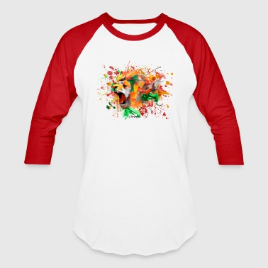 Lion Blast - Baseball T-Shirt