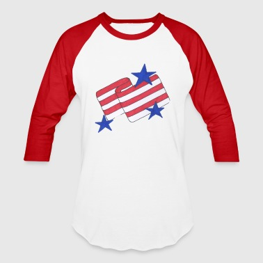 Stars and Stripes - Baseball T-Shirt