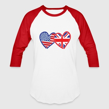 USA Union Jack - Baseball T-Shirt