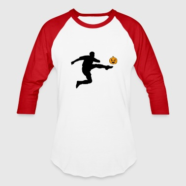 Kicker Halloween Soccer Player Kicker - Baseball T-Shirt