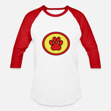 Super Dog Super, Hero, Super hero, Super Dog, Super Paw - Baseball T-Shirt