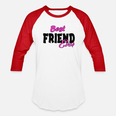Bff Couple bff - Baseball T-Shirt