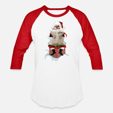 Funny Party Santa Party Pooper Funny Christmas - Baseball T-Shirt
