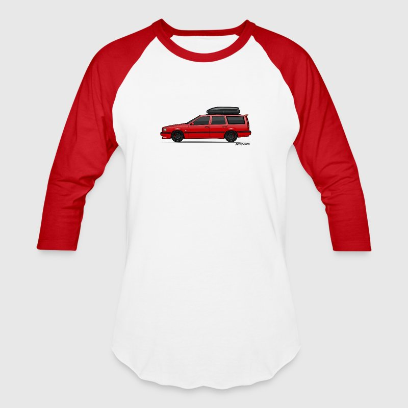 Volvo 850R 855R T5-R Red Swedish Turbo Wagon - Baseball T-Shirt