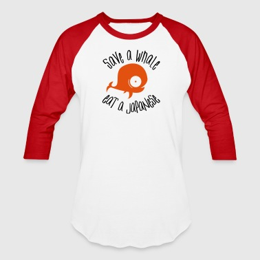 Save Whales - Baseball T-Shirt