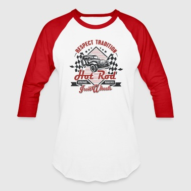 Hot Rod Vintage racers - Baseball T-Shirt