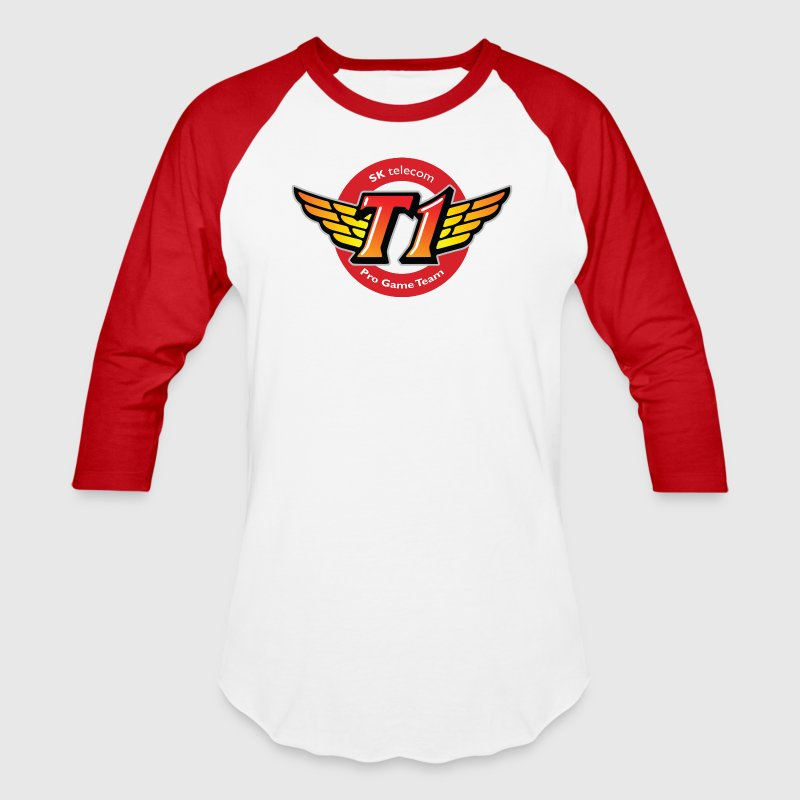 SKT  HUGE BEST LOGO - Baseball T-Shirt