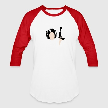 Baddass Princess Leia - Baseball T-Shirt