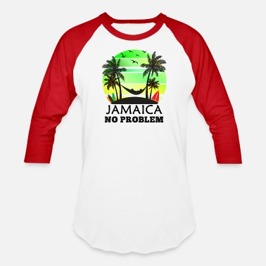 Jamaica Jamaica No Problem - Baseball T-Shirt