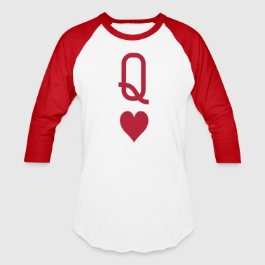 queen_of_hearts - Baseball T-Shirt