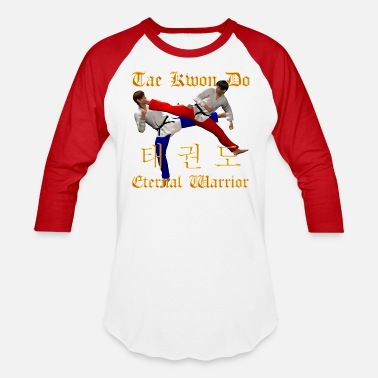 Tae Kwon Do Warriors - Unisex Baseball T-Shirt