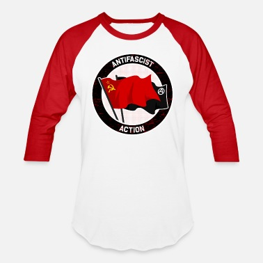 Antifascist Antifascist Action - Unisex Baseball T-Shirt