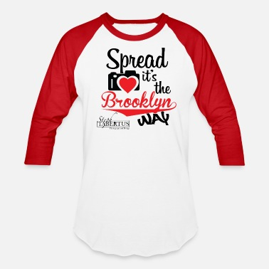 Spread Love - Unisex Baseball T-Shirt