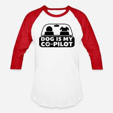 Car Driver car driver dog - Baseball T-Shirt