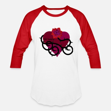 Roses And Thorns Rose with thorns and gg - Baseball T-Shirt