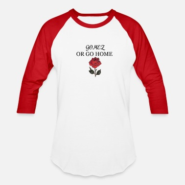 Selena Gomez GOMES OR GO HOME WITH ROSE - Baseball T-Shirt