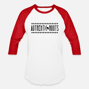 African Culture Collection - Authentic Roots - Unisex Baseball T-Shirt