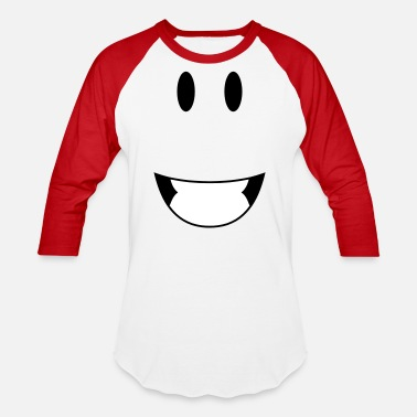 Happy Face face happy - Baseball T-Shirt