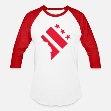 Washington D.c. Washington D.C. - Baseball T-Shirt