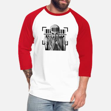 Rocker Barcode Punk Outfit - Registered In The System - Unisex Baseball T-Shirt