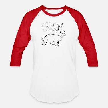 Back Rabbit rabbit - Baseball T-Shirt