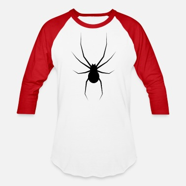 Spiders Giant Spider, disgusting - Unisex Baseball T-Shirt