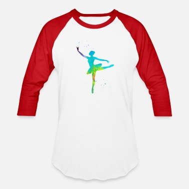 Ballerina Ballet dancer - Baseball T-Shirt