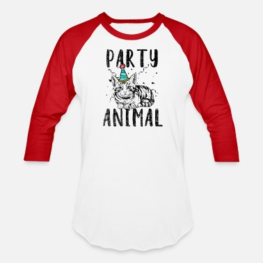 Party Animal Party Animal - Unisex Baseball T-Shirt