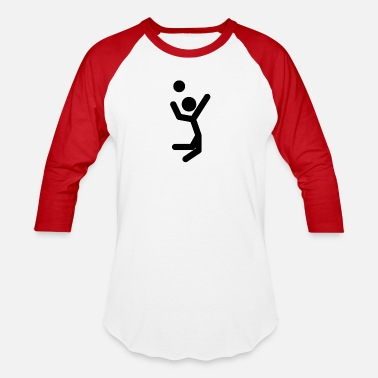 Jump Shot Volley Ball Jump Shot - Baseball T-Shirt