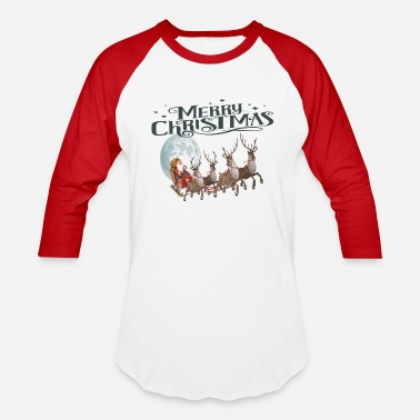 Merry new merry Christmas - Baseball T-Shirt