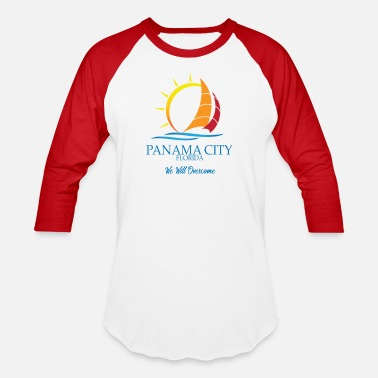 Hurricane panama city We Will Overcome - Baseball T-Shirt