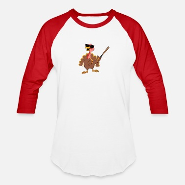 Long Turkey Baseball Bat Home Run - Unisex Baseball T-Shirt