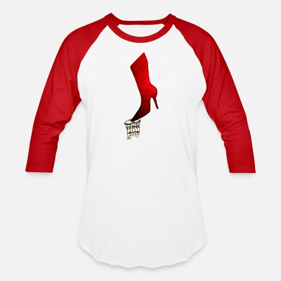 Emancipation T-Shirts - Woman emancipation: empower yourself up! - Unisex Baseball T-Shirt white/red